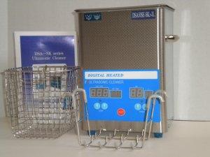 COMPLETE SET OF COMMERCIAL SERIES 3L (3.17 QT)  250W DSA50SE-SK2 DIGITAL ULTRASONIC CLEANER