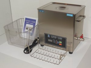 DSA280SE-GL2 14.5L 3.8GAL 880W 20/40KHz HEATED INDUSTRIAL ULTRASONIC CLEANER