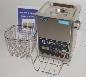 DSA70SE-GL2 3L 3.17QT 270W DUAL 20/40KHz DIGITAL HEATED ULTRASONIC PARTS CLEANER WASHER
