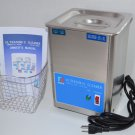DSA70SE-JY3 3L 3.17QT 70W 40KHz ULTRASONIC PARTS CLEANER WASHER MACHINE WITH BASKET AND TOP LID