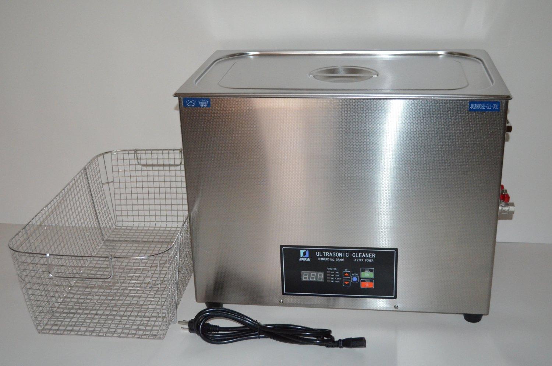 DSA800SE-GL2 30L (8GAL) 1600W DUAL 20/40KHz ULTRASONIC CLEANER +BASKET+LID