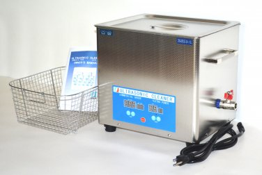 DSA280SE-SK1 10L 880W 40KHZ HEATED INDUSTRIAL STAINLESS STEEL ULTRASONIC PARTS CLEANER WASHER