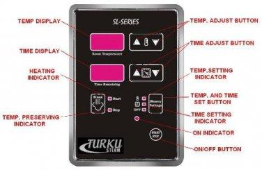 REPLACEMENT SL-SERIES EXTERNAL DIGITAL CONTROLLER FOR TK SERIES TURKU STEAM GENERATOR