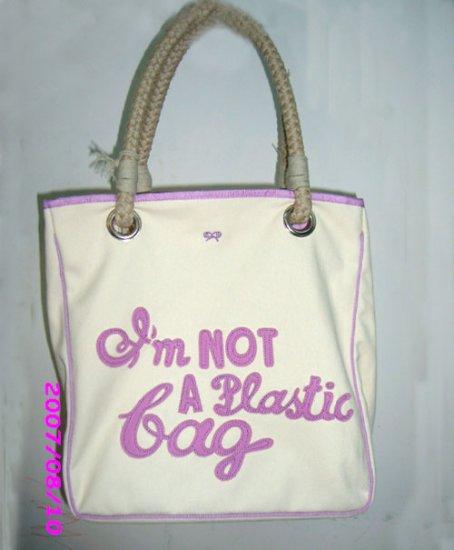 Im Not A Plastic Bag Purple