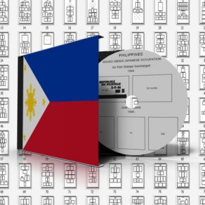 PHILIPPINES STAMP ALBUM PAGES 1854-2011 (548 pages)