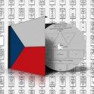 CZECH REPUBLIC STAMP ALBUM PAGES 1918-2011 (500 pages)