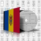 MOLDOVA STAMP ALBUM PAGES 1992-2011 (100 pages)