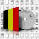 BELGIUM STAMP ALBUM PAGES 1849-2011 (610 pages)