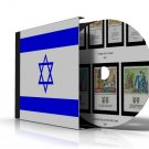 ISRAEL STAMP ALBUM PAGES CD 1948-2009 (280 color illustrated pages)