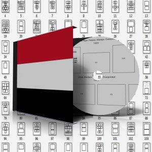 YEMEN (YEMEN ARAB REPUBLIC) STAMP ALBUM PAGES 1926-2010 (376 pages)