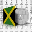 JAMAICA STAMP ALBUM PAGES 1860-2011 (151 pages)