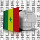 SENEGAL STAMP ALBUM PAGES 1887-2011 (260 pages)