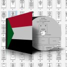 SUDAN STAMP ALBUM PAGES 1897-2011 (76 pages)