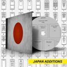 JAPAN ADDITIONS STAMP ALBUM PAGES 1871-2010 (202 pages)