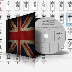 GREAT BRITAIN ADDITIONS STAMP ALBUM PAGES CD 1937-2011 (104 pages)