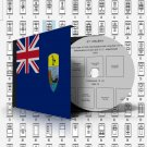 SAINT HELENA STAMP ALBUM PAGES 1856-2011 (146 pages)