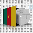 CAMEROUN STAMP ALBUM PAGES 1863-2011 (168 pages)