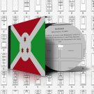 BURUNDI STAMP ALBUM PAGES 1962-2011 (318 pages)