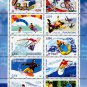 COLOR PRINTED FRANCE 2003-2005 STAMP ALBUM PAGES (74 illustrated pages)