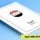 COLOR PRINTED EGYPT 2000-2010 STAMP ALBUM  PAGES (59 illustrated pages)