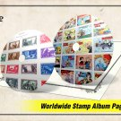 ULTIMATE WORLDWIDE STAMP ALBUM PAGES LIBRARY (39.000+ color illustrated pages)