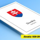 COLOR PRINTED SLOVAKIA 1939-2010 STAMP ALBUM PAGES (92 illustrated pages)