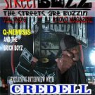 Streetbuzz Dvd Magazine Presents... Credell Vol.1 No.6.5