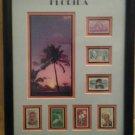 Set of Florida stamps