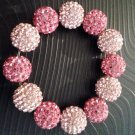 Swarovski Crystal ball bracelet