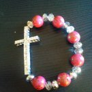 New Crystal Cross Bracelet