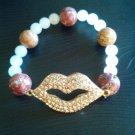 New Crystal Cross/Charm Bracelet