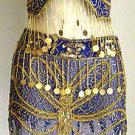 Belly Dance Costumes Blue Dress A
