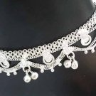 Silver Anklet with Bells M