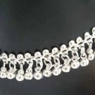 Silver Anklet with Bells N