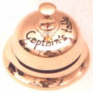 Brass Ships Table Bell engraved Captains Table