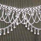 Belly Dancing Silver Belly Chain Coin Belt Waist Chain E