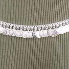 Belly Dancing Silver Belly Chain Coin Belt Waist Chain N