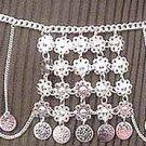 Silver Belly Chain Coin Belt Waist Chain U