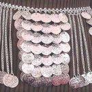 Silver Belly Chain Coin Belt Waist Chain W