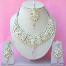 Indian Bridal Saree Jewelry Set Multicolor Stones NP-267