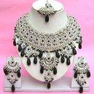 Indian Bridal Saree Jewelry Set Multicolor Stones NP-279