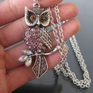 Beautiful owl necklace