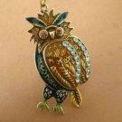 Beautiful owl necklace BZ11