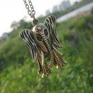 Three-dimensional elephant necklace