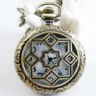 Stars pocket watch necklace