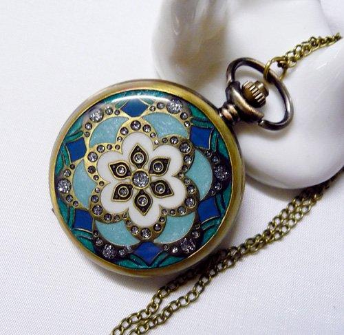 Pocket watch necklace BZ49