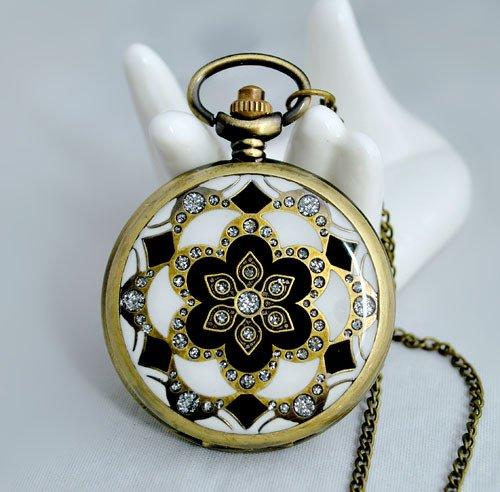Pocket watch necklace BZ48