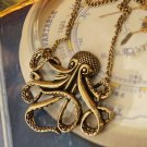 Retro Octopus necklace