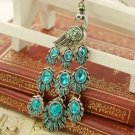 Retro necklace peacock BZ185