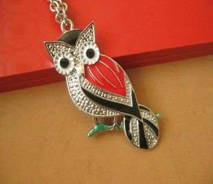 Color of the owl necklace BZ88